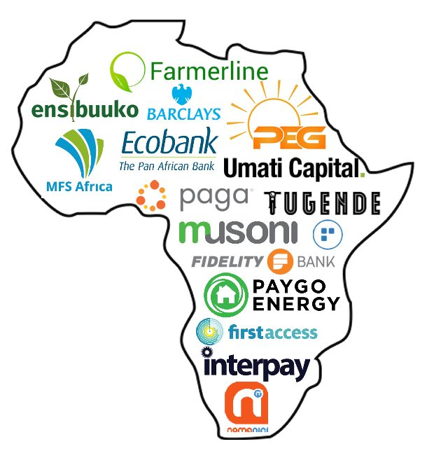Fintech providers in Africa