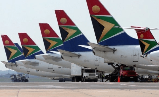 South African Airways in debt