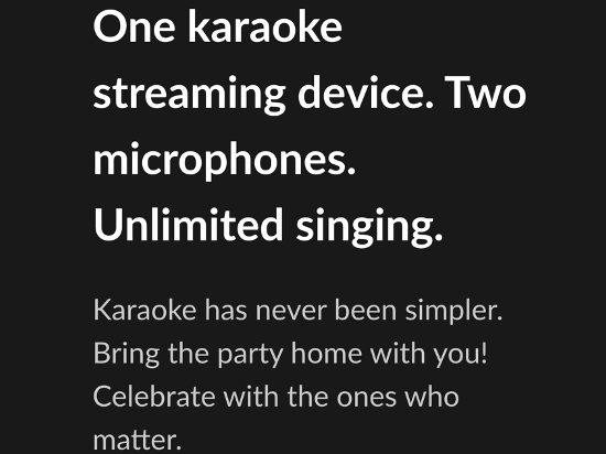 Popsical's Karaoke service