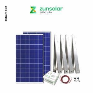 ZunRoof solar panels