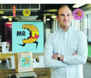 Head of Mr D Food-Devin Sinclair