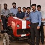 AutoNxt Automation Pvt. Ltd. team with their EV tractor