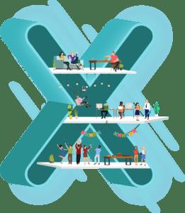 hearX Group's logo