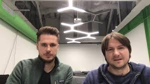 Co-founders - Mikhail Melanin and Konstantin Selivanov