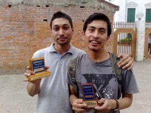 第1回Ruby on Rails Bootcampの勝者 - SarwagyaとBala