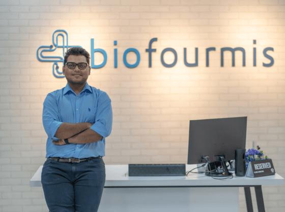 Biofourmis' founder