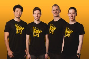 Playco Co-founders Takeshi Otsuka, Justin Waldron, Michael Carter and Teddy Cross. (L-R) Courtesy:https://www.play.company/