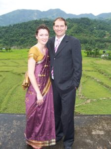 2008 - Mark & Laurel's first year in Nepal (and first Nepali wedding!)